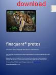 User Manual Finaquant Protos