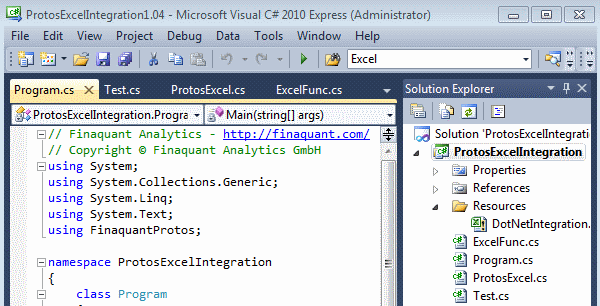 Calling .NET from Excel