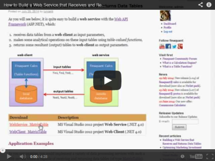 Video: Steps for Building the Web Service
